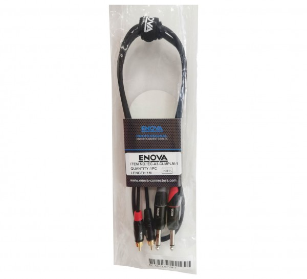 1 m RCA Jack Adapter cable stereo